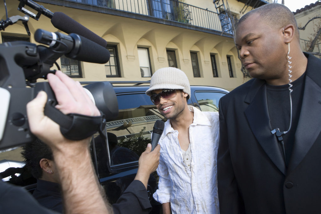 Celebs' bodyguards: Surprising stories they've told